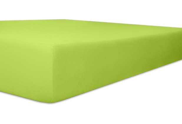 Kneer Qualität 93 *Exclusive-Stretch Spannbetttuch 180x200cm green
