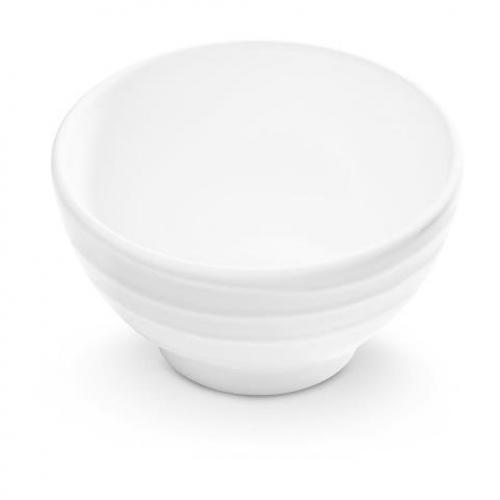 """Gmundner Keramik """"Weissgeflammt"""" Müslischale groß Ø 14cm"""