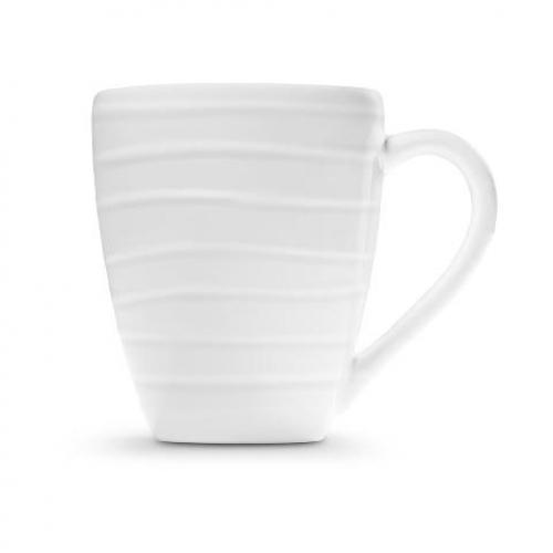 "Gmundner Keramik ""Weissgeflammt"" Frühstücksbecher Max 0,3L"