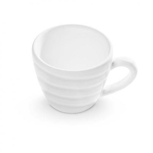 "Gmundner Keramik ""Weissgeflammt"" Espressotasse 0,06L"