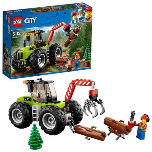 LEGO 60181 CITY - Forsttraktor