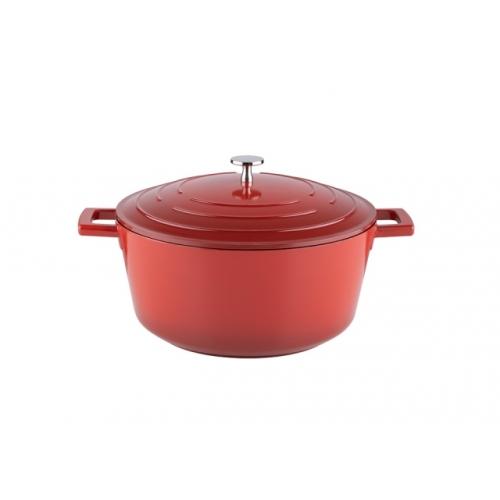 KELOMAT Keramik Red Schmortopf Ø 24cm