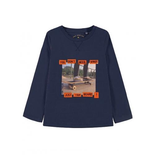 "TOM TAILOR Mini Boys Shirt ""You Don`t Need Wings"" langarm"