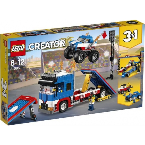 LEGO 31085 Creator - Stunt- Truck- Transporter