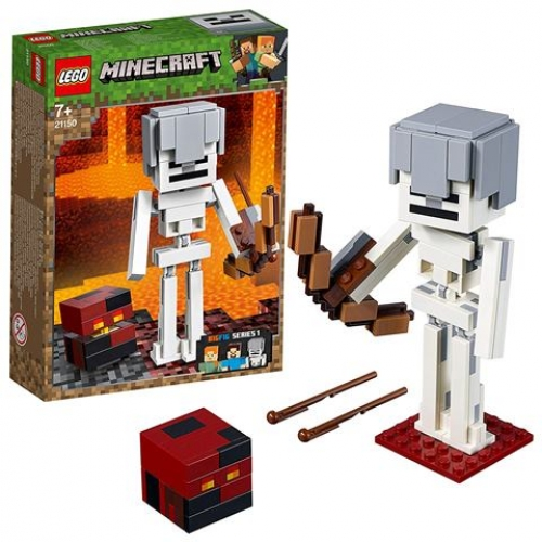LEGO 21150 Minecraft - BigFig Skelett mit Magmawürfel