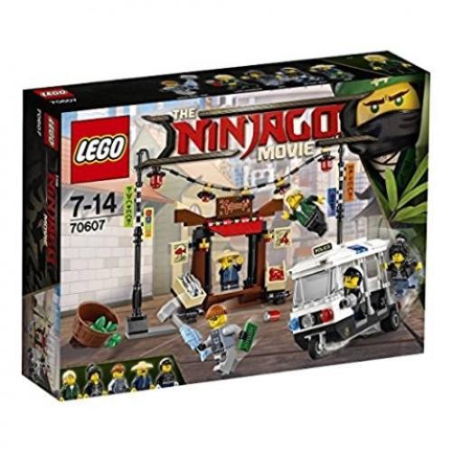 LEGO 70607 Ninjago - Verfolgungsjagd in Ninjago City