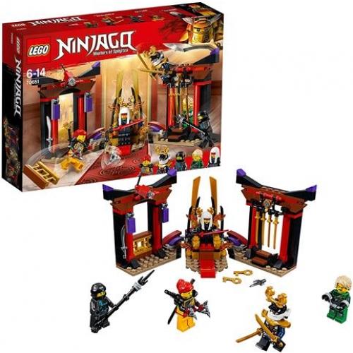 LEGO 70651 Ninjago - Duell im Thronsaal