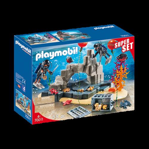 PLAYMOBIL 70011 -  SuperSet SEK-Taucheinsatz