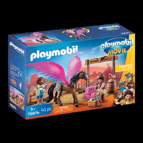 PLAYMOBIL 70074 - PLAYMOBIL:THE MOVIE Marla, Del und Pferd mit Flügeln