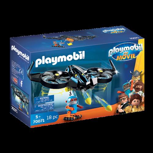 PLAYMOBIL 70071 - PLAYMOBIL:THE MOVIE Robotitron mit Drohne