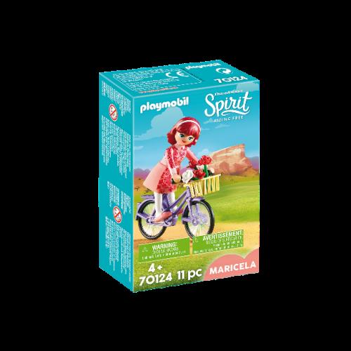 PLAYMOBIL 70124 - Maricela mit Fahrrad