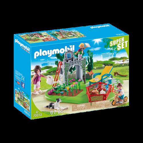 PLAYMOBIL 70010 - SuperSet Familiengarten