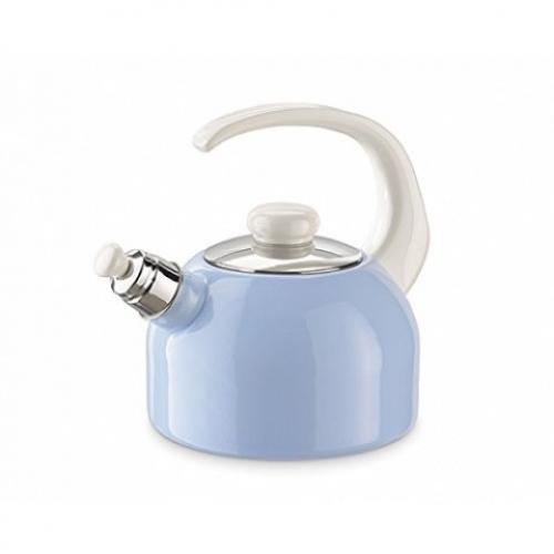 Riess Flöten-Wasserkessel, 18cm, 2 Liter (pastellblau)