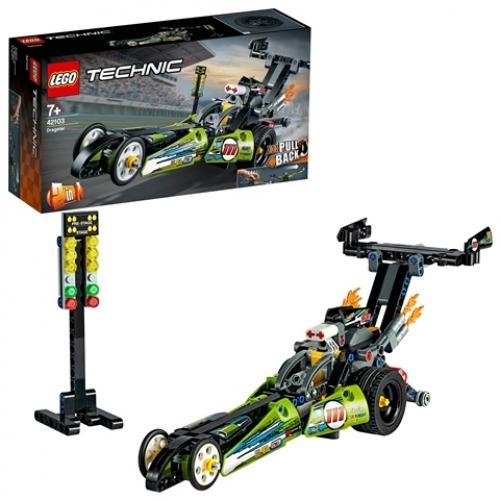 LEGO 42103 Technic -  Dragster Rennauto