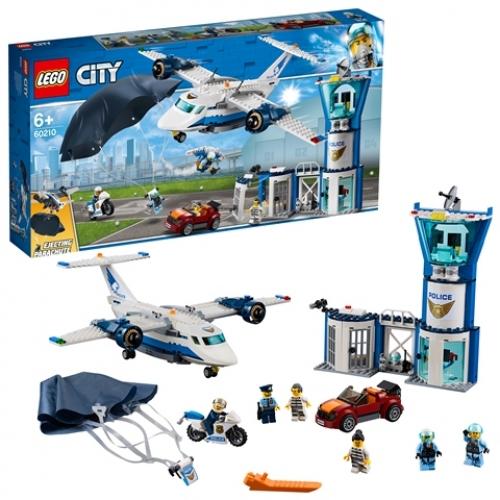 LEGO 60210 City -  Polizei Fliegerstützpunkt