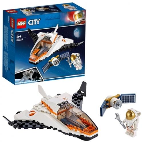 LEGO 60224 City - Satelliten-Wartungsmission