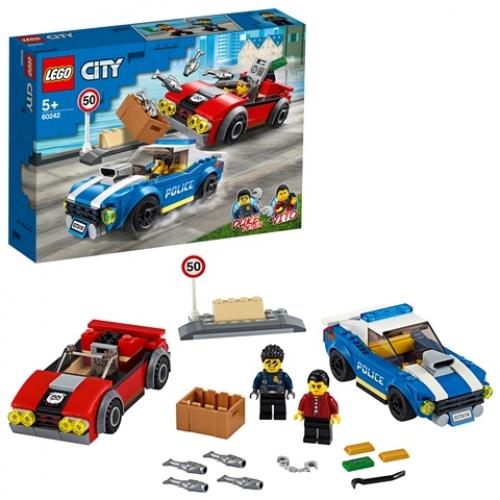 LEGO 60242 City - Festnahme auf der Autobahn