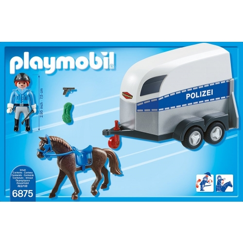 PLAYMOBIL 6875 - Berittene Polizei