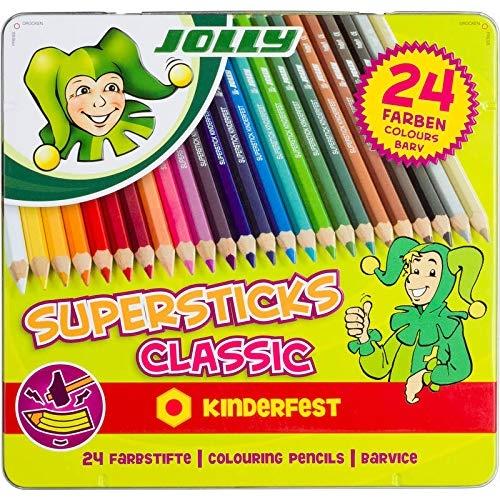 "Jolly Buntstifte ""Supersticks Classic"", 24er"