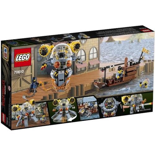 LEGO 70610 Ninjago -  Turbo-Qualle