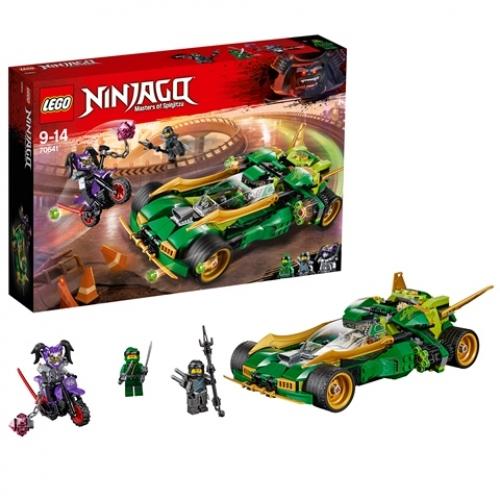 LEGO 70641 Ninjago - Lloyds Nachtflitzer