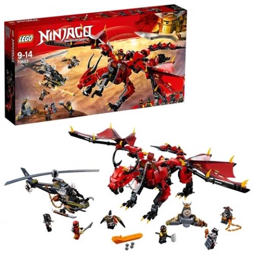 LEGO 70653 Ninjago - Mutter der Drachen