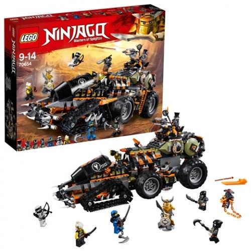 LEGO 70654 Ninjago - Drachen-Fänger