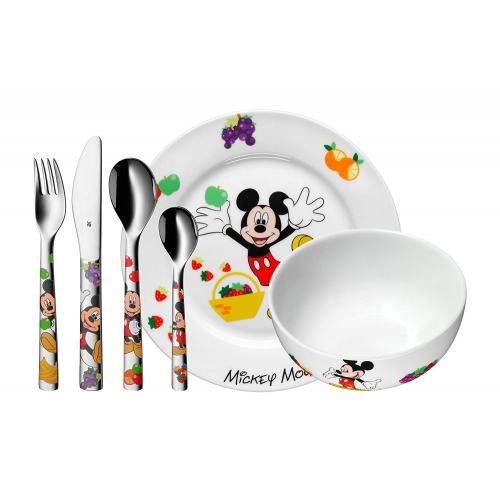 "WMF Disney Kinder-Set ""Mickey Mouse"" 6-teilig"