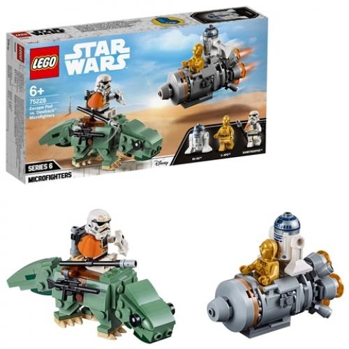 LEGO 75228 Star Wars - Escape Pod vs. Dewback™ Microfighters