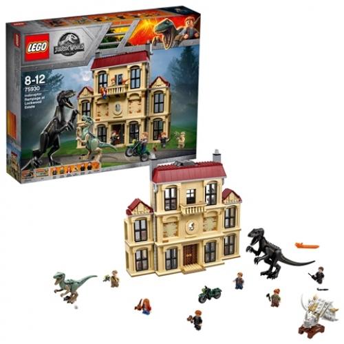 LEGO 75930 Jurassic World - Indoraptor-Verwüstung des Lockwood Anwesens