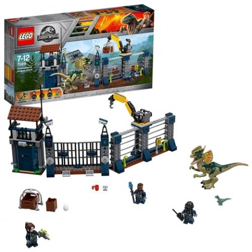 LEGO 75931 Jurassic World - Angriff des Dilophosaurus