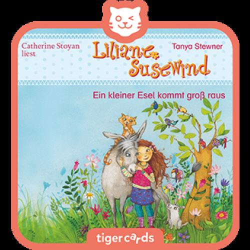 TIGERMEDIA tigercard: Liliane Susewind - Ein kleiner Esel kommt groß raus