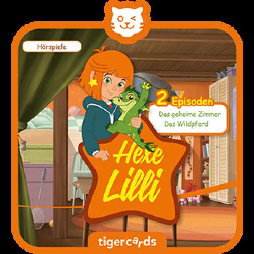 TIGERMEDIA tigercard: Hexe Lilli - Das geheime Zimmer & Das Wildpferd