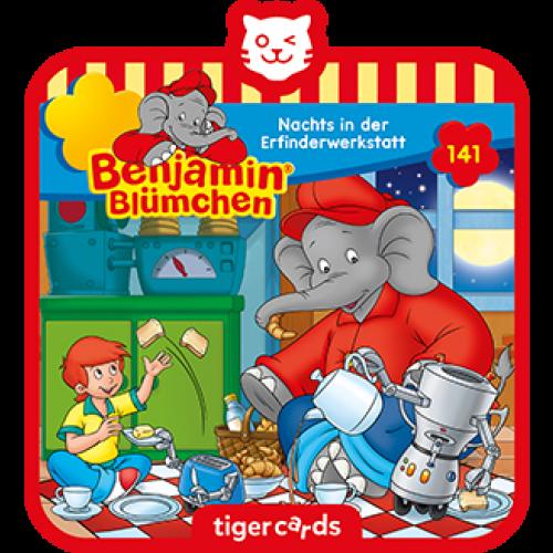 TIGERMEDIA tigercard: Benjamin Blümchen (141) - Nachts in der Erfinderwerkstatt