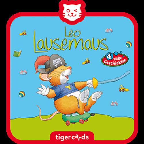 TIGERMEDIA tigercard: Leo Lausemaus (10) - Will nicht draußen spielen