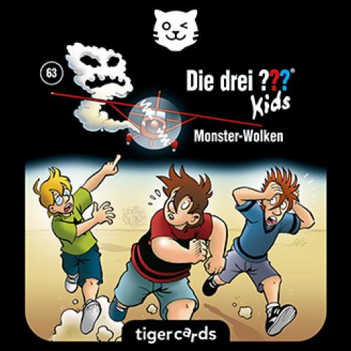 TIGERMEDIA tigercard: Die drei ??? (63) - Monster-Wolken