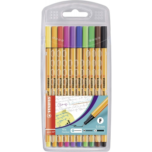 "Stabilo Fineliner ""point 88"", 10er Pack"