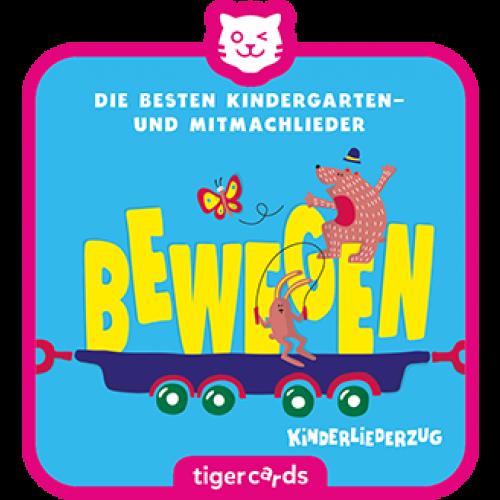 TIGERMEDIA tigercard: Kinderliederzug (2) - Bewegen