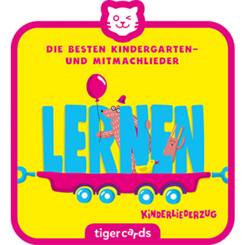 TIGERMEDIA tigercard: Kinderliederzug (1) - Lernen