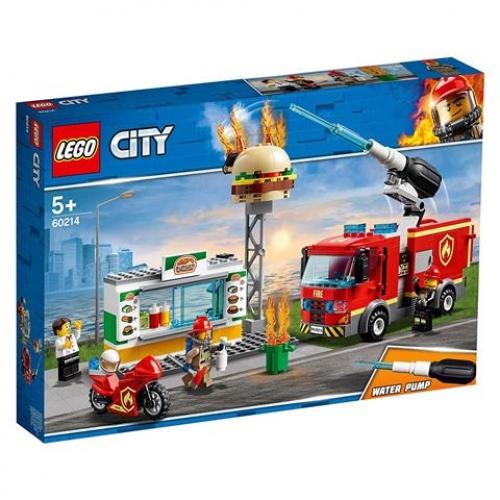LEGO 60214 CITY - Feuerwehreinsatz im Burger-Restaurant