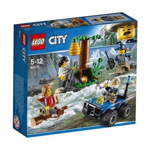 Lego 60171 CITY - Verfolgung durch die Berge