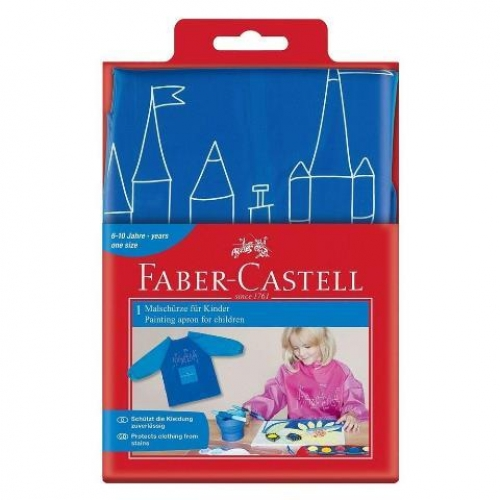 Faber-Castell Malschürze f. Kinder blau