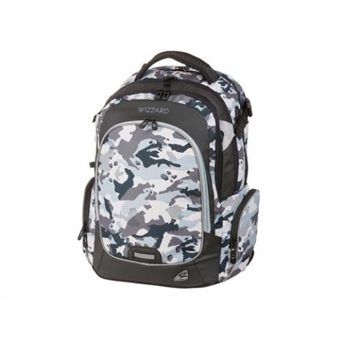 """WALKER Schulrucksack """"Campus Wizzard"""" (Camouflage)"""