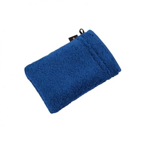 """VOSSEN Waschhandschuh """"Vienna Style Supersoft"""" 22x16cm (Farbe deep blue)"""