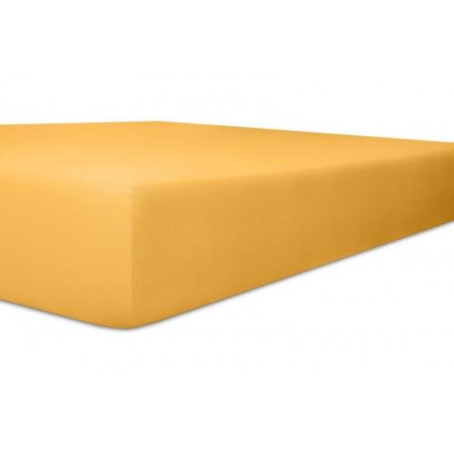 Kneer 22 Vario-Stretch Spannbetttuch 180x220cm gelb