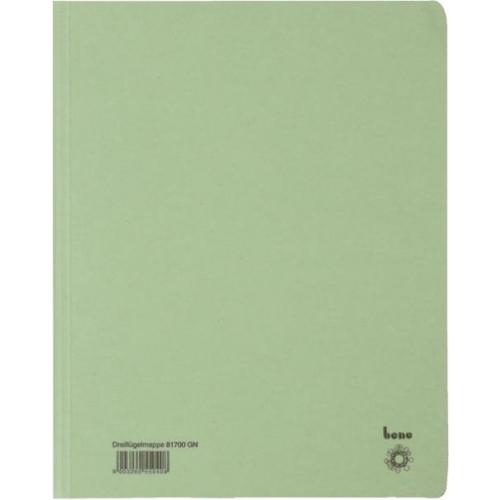 BENE Dreiflügelmappe 81700  A4 grün