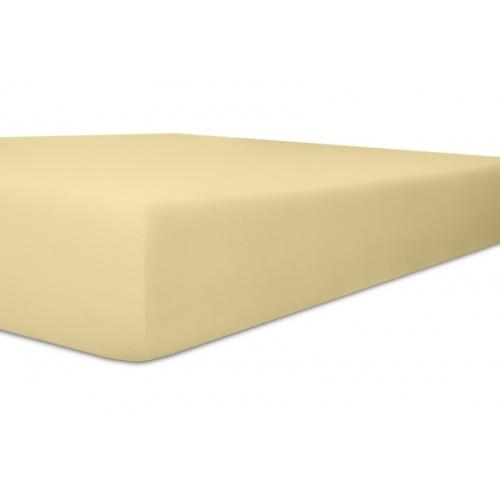 Kneer 22 Vario-Stretch Spannbetttuch 180x220cm kiesel