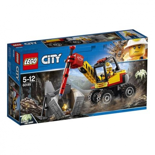 LEGO City 60185 Bergbauprofis Power-Spalter