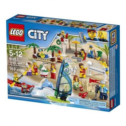 LEGO 60153 CITY -  Stadtbewohner Ein Tag am Strand