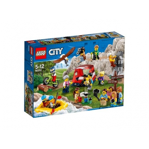LEGO 60202 CITY -  Stadtbewohner Outdoor-Abenteuer